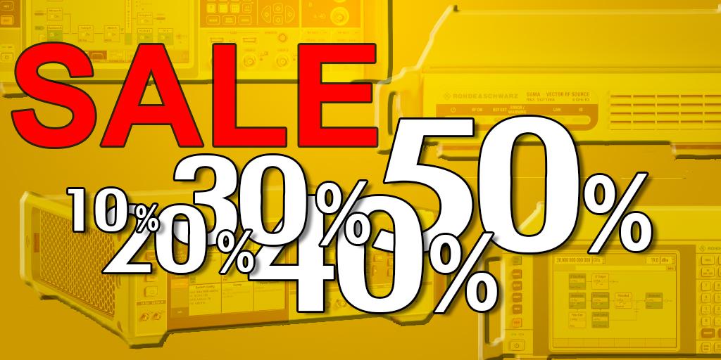 Распродажа демо оборудования в наличии на складе со скидкой до 50%